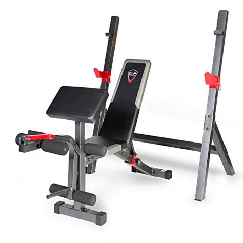 cap barbell fitness bench cap barbell strength olympic bench with preacher pad