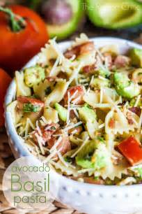 avocado basil pasta the recipe critic