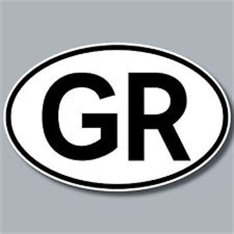 Auto L Nderkennzeichen by Auto Pkw Kfz Kennzeichen L 228 Nderkennzeichen Griechenland Gr