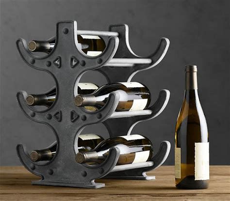 Wine Rack Hardware by Restoration Hardware Factory Table Wine Rack Cool Material