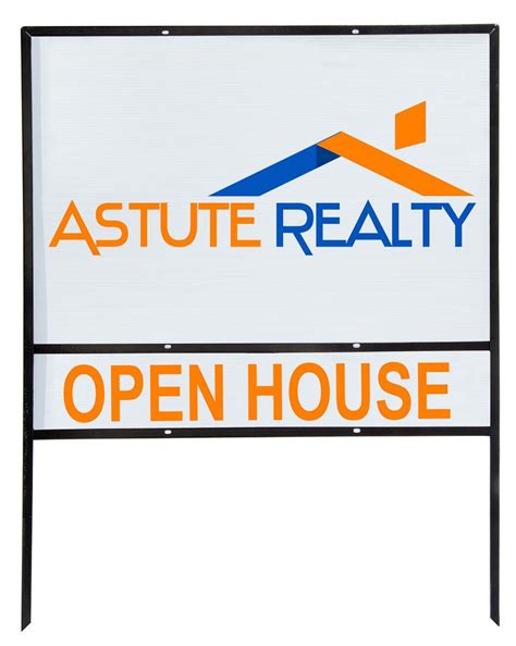 24x36 Real Estate Frame by Real Estate Sign Frame Set Of 5
