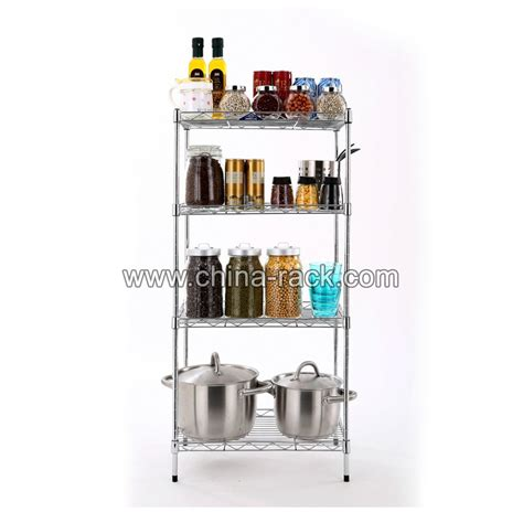 household kitchen chrome metal wire shelving buy