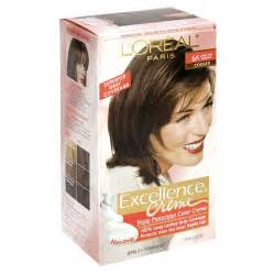 loreal excellence hair color chart loreal excellence creme haircolor light auburn 6r