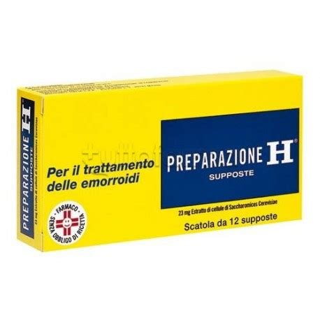 supposte emorroidi interne preparazione h 12 supposte 23 mg per emorroidi