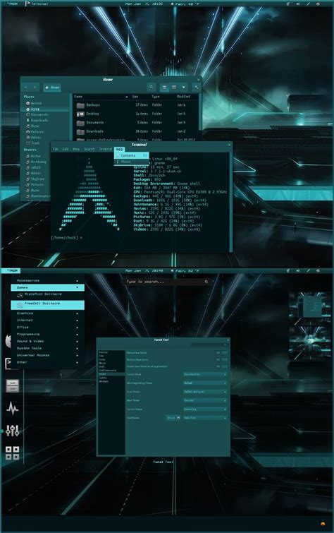themes gnome 3 6 cyanogen for gnome shell 3 6 by cbowman57 on deviantart