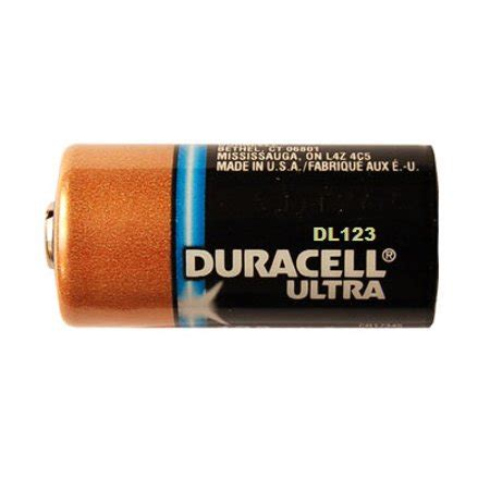 Baterai Cr123 duracell ultra dl123 3 0v photo lithium battery cr123 10