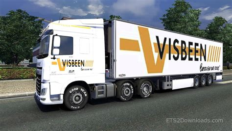 Visbeen Visbeen Pack For Daf Euro 6 Euro Truck Simulator 2 Mods