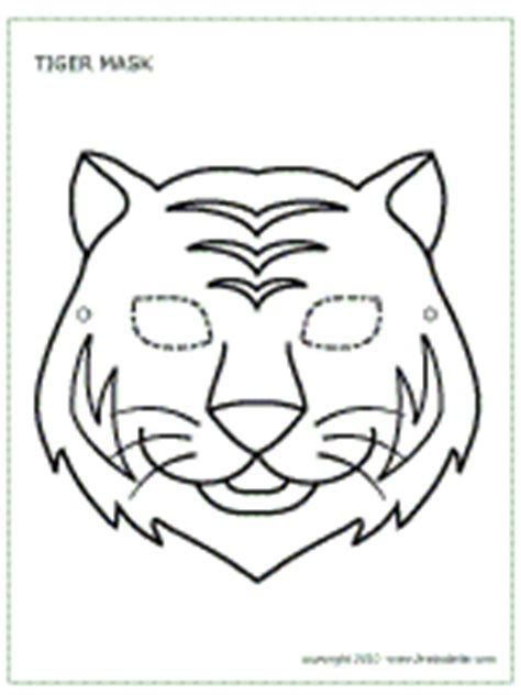 tiger mask coloring page image gallery tiger mask