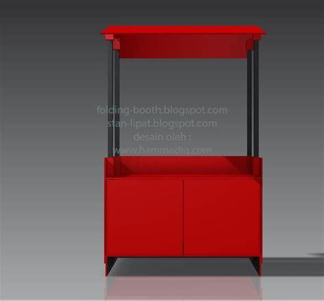 Meja Lipat Koenig Fold Panjang 200cm Lebar 60cm folding booth stan lipat gerobak lipat kayu glk 1 0