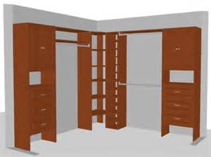 l shaped closet solution bedroom ideas