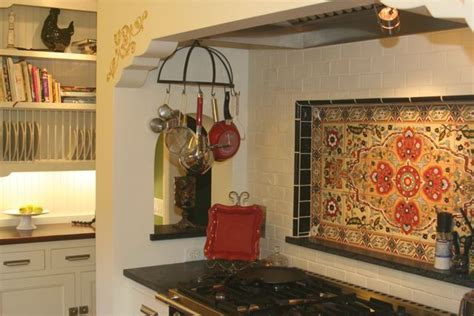 spanish tile kitchen backsplash image spanish kitchen tile backsplash download