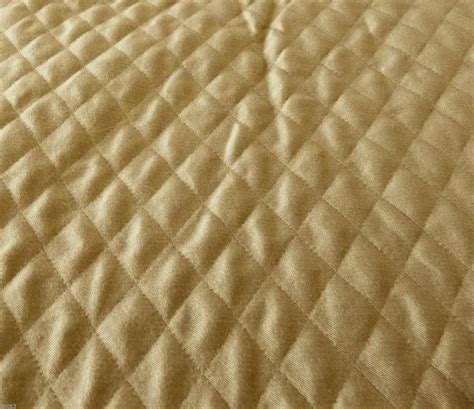 Quilted Upholstery by Bronze Beige Sided Quilted Upholstery