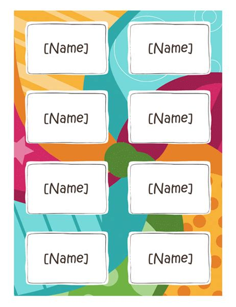 4 name tag template word divorce document