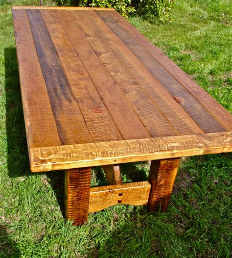 rustic farm dining table farm table pine rustic dining tables by