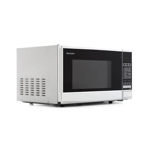 Microwave Sharp R 222 Y buy sharp r270slm microwave silver marks electrical