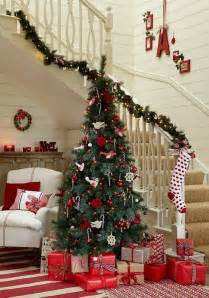 home decorations for christmas 100 awesome christmas stairs decoration ideas digsdigs
