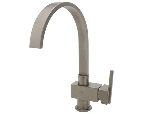 brushed nickel single handle kitchen faucet 712 bn brushed nickel single handle kitchen faucet
