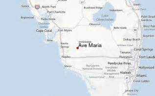 ave florida map ave florida weather forecast