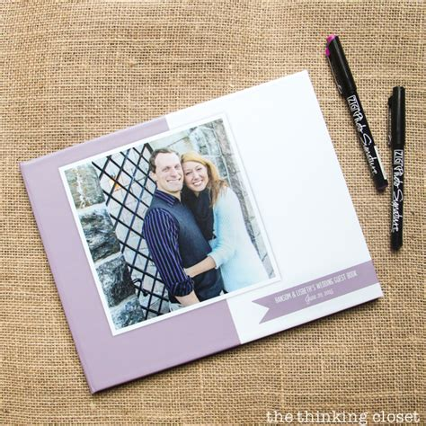 Wedding Album Writing by D I Y Wedding Guest Book With Creative Prompts The