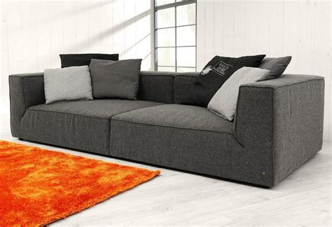 how big is a couch tom tailor big sofa 187 big cube 171 wahlweise mit