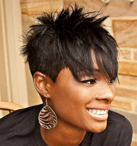 spikey hairstyles for black spiky hairstyles for with hair