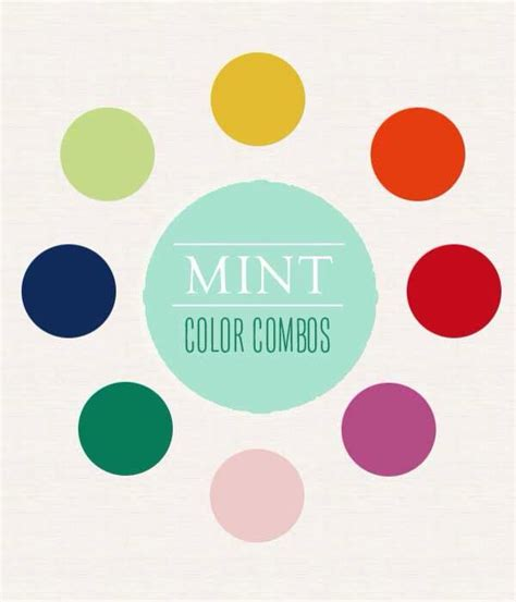 colors that go with mint complimentary colors to mint green kitchen redo