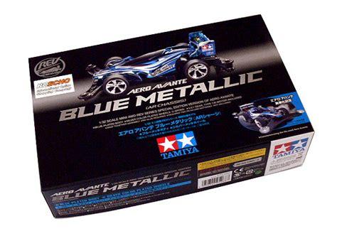 Tamiya Mini 4wd Aero Avante Biru Metal tamiya model mini 4wd racing car rev 1 32 aero avante blue