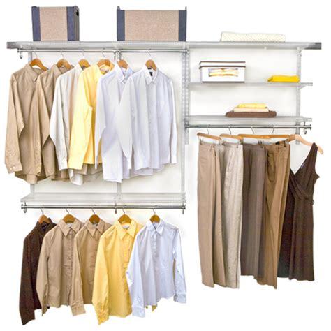 freedomrail closet storage system in pre designed