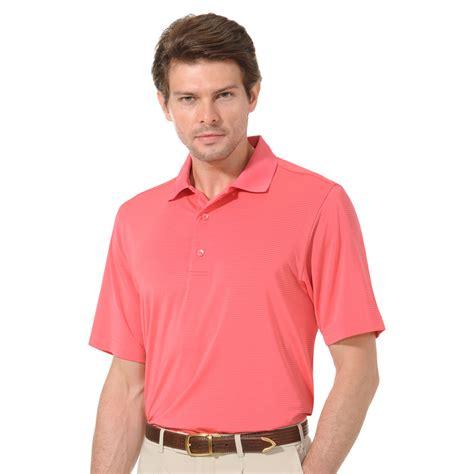 mens swing clothing monterey club mens dry swing tonal mini stripe golf polo