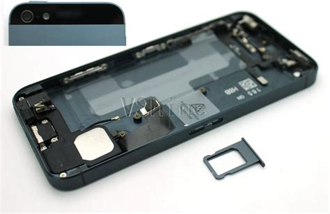 Iphone 5g Small replacement metal back battery housing frame cover with