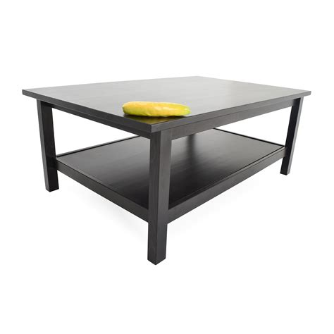 50 Off Ikea Dark Chocolate Coffee Table Tables Chocolate Coffee Table