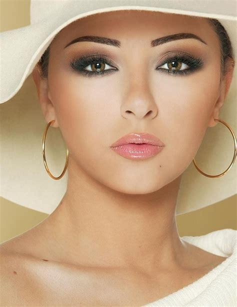 lipstick colors for over 60 brown smoky eyes nude lips weddings makeup bridesclub