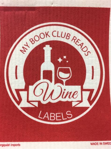 My book club reads Wine Labels