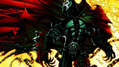 Spawn The spawn on comic character and comic
