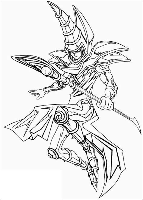 yu gi oh coloring pages yu gi oh magic card coloring picture for yu