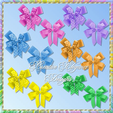 colorful bows creative elegance designs colorful bows