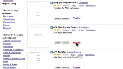 apa style and document collections in google docs on vimeo