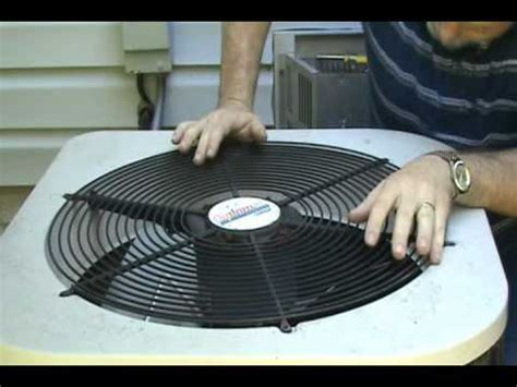 central ac fan motor air conditioner fan replacement wmv