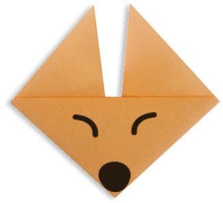 Easy Origami Fox - origami fox easy origami for