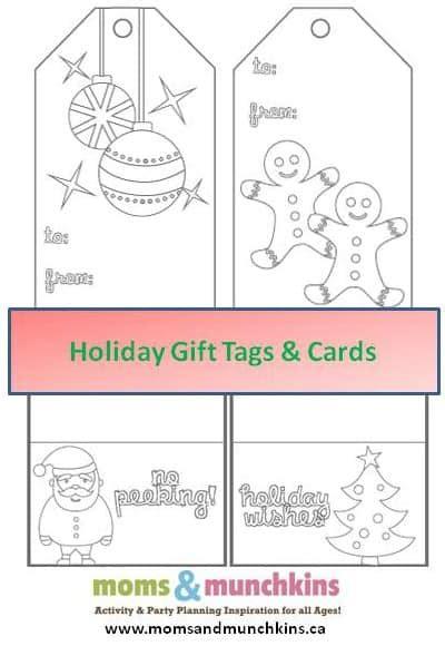 printable christmas cards  color moms munchkins