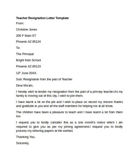 Resignation Letter Format Engineer Sle Resignation Letter Exle 10 Free Documents In Word Pdf