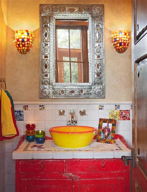 mexican bathroom decor how to decorate your bathroom in mexican style interior