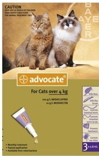 Sale Advocate For Small Up To 4kg Box Isi 3 bayer advocate cat flea treatment cats