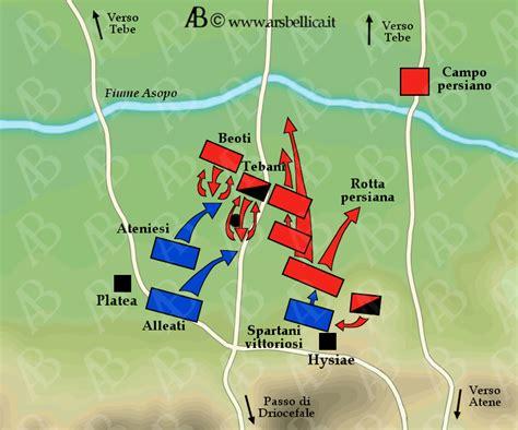 prima guerra persiana riassunto battaglia di platea le grandi battaglie della storia