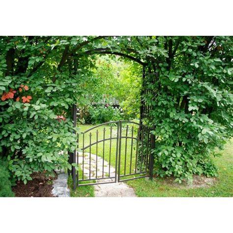 archi per giardino arco da giardino con cancello in ferro
