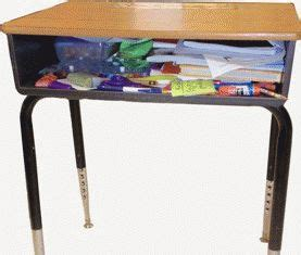 The Neatnook School Desk Organizer Is A Elementary School School Desk Organizers