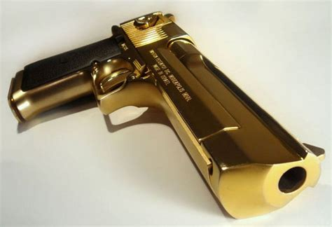 wallpaper gun gold image detail for magnum research desert eagle with a