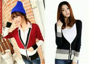 Baju Rajut Terbaru Grosir Paling Murah Zipper Knit Murah grosir rajut korea murah di malang grosir baju rajut