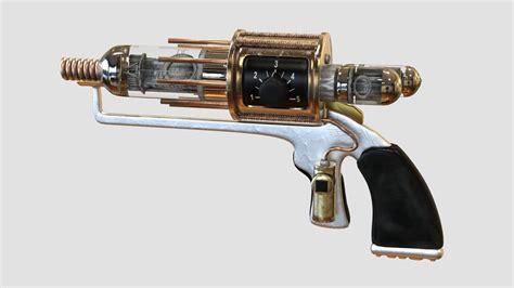 tesla gun obj and textures