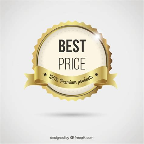 best for the price best price badge vector free